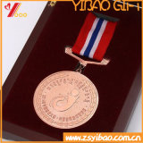 사건 (YB-M-011)를 위한 주문을 받아서 만들어진 고품질 연약한 사기질 기념품 메달