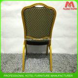 Cadeira de empilhamento de aço de alumínio do banquete do hotel do preço do competidor