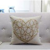 Leinenkarikatur-Muster-nationales Art-Baumwollgeometrie-Auto-Kissen-Kissen