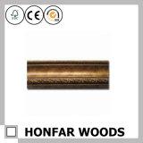 Cornice reale con il fornitore di legno dell'oro dalla Cina