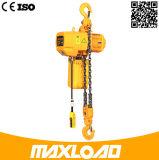 elektrische Kettenhebevorrichtung der Kapazitäts-5t mit Haken