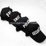 Бейсбольная кепка вышивки черноты ФБР армии сверла хлопка
