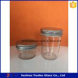 Eindeutige Form-Glasglas, Glaskerze-Glas, kosmetisches Glasglas für heißen Verkauf