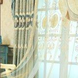 Umweltfreundlicher Chenille-Stickerei-Stromausfall-Fenster-Vorhang (26W0027)