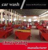 Uso da máquina da lavagem da roda do caminhão do rolamento do fabricante no canteiro de obras