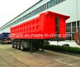 3/4 individu de la Chine d'essieux inclinant la remorque à vendre