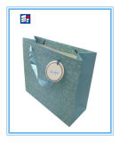 Bolso de compras de papel de las ventas calientes con insignia de la aduana de la impresión