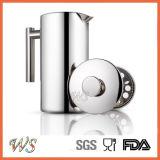 Double générateur de café de qualité de presse de Français d'acier inoxydable du mur Wschsy014
