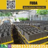 Ventes manuelles de machine de fabrication de brique de bonne de la vente Qt4-24 de l'Afrique de cavité de bloc machine de générateur au Ghana