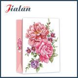 Bolsas de papel personalizadas venta al por mayor impresas insignia de encargo barata promocional del diseño