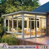 Sunroom dell'alluminio di vetro Tempered del doppio di prezzi di fabbrica
