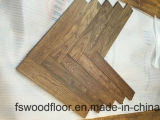 Pavimentazione di legno cinese mongola del parchè Herringbone del teck della fabbrica di Guangzhou