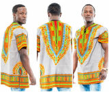 T-shirts tribals de Boho du cru africain des femmes de Mens de Dashiki (A225)