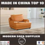 普及した居間の本革のソファーはセットした(LZ-706)