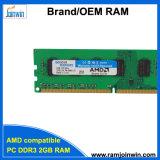 Motherboards AMD Compatibel systeem en ett-Spaander de RAM van de Desktop DDR3 2GB