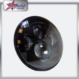 O ângulo redondo do diodo emissor de luz de 7 polegadas do preço de fábrica IP68 Eyes o farol para feixe elevado claro do diodo emissor de luz do Hummer de Harley Motorcyclre do Wrangler do jipe o baixo