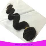 Человеческие волосы малайзийского цвета объемной волны волос девственницы естественного естественные
