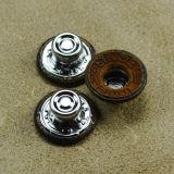 Изготовленный на заказ кнопка джинсыов металла типа Flatback с крышкой отверстия