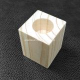Blocos de madeira contínuos baratos pequenos de pinho com furos