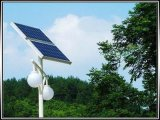 lâmpada de rua 60W solar com bateria de lítio