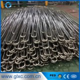 L'OIN du PED délivrent un certificat TP304 la pipe de l'acier inoxydable U