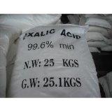 99,6% de ácido oxálico para Cuero y Textiles Fabricante
