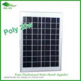 poly panneau solaire de 18V 20W pour le système 12V (2017)