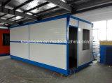 Casa móvil prefabricada de Peison/prefabricada temporal para el lugar de la construcción