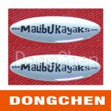 Etiqueta engomada de epoxy material de encargo de la insignia los 3m de la bóveda de la impresión del diseño de la PU