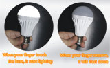 ampola Emergency clara inteligente recarregável do diodo emissor de luz do diodo emissor de luz de 5W 7W 9W E27 B22