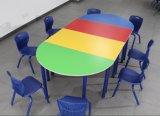 두 배에 의하여 결합되는 학생 테이블 및 의자 학교 책상 (BZ-0152)