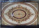 decoración cristalina de oro del suelo de la sala de estar de 1800X1200m m