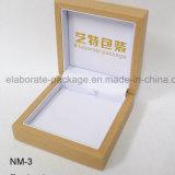 Коробка оптового естественного твердого деревянного Jewellery установленная упаковывая