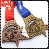 Medaglia del premio di sport di esecuzione di abitudine del fornitore della Cina