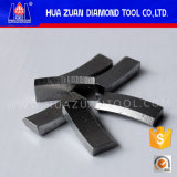 切口の鉄筋コンクリートのための空のダイヤモンドの穿孔機ビットセグメント