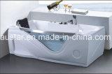 1900mm Tamaño grande bañera de masaje SPA con el CE RoHS (AT-0521-2)
