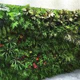 Стена завода Aritificial горячего сбывания крытая зеленая декоративная