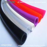 Pipe de vide anti-calorique colorée en caoutchouc de silicones