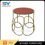 Israel Home Furniture Mesa de final de sofá de metal