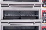Hornada eléctrica industrial del pan de la panadería del horno de 3 bandejas de las cubiertas 3