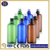 Plastikrunde Form-Shampoo-Flaschen des haustier-500ml