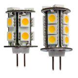 Luz ao ar livre clara do diodo emissor de luz G4 da iluminação Bi-Pin do milho