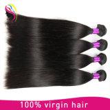 加工されていなく自然なバージンのRemyの閉鎖とのブラジルの人間の毛髪の拡張