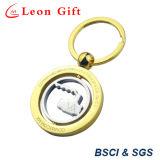Anello chiave di filatura di abitudine all'ingrosso, anello portachiavi di filatura di metallo