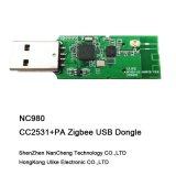 Cc2531PA Zigbee USBのDongleのZigbeeの無線モジュール(NC980) Cc2531 Cc2592のトランシーバ