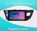 Navegação Android do carro DVD GPS do sistema para Toyota Levin tela de toque de 10.1 polegadas com Bluetooth/MP3/WiFi