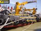 grue marine de boum télescopique hydraulique de porte-fusée de 2t30m avec la conformité de l'ABS CCS