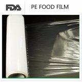 Le PE enorme de film d'enveloppe d'extension de roulis de moulin de bobine de qualité s'attachent film