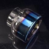 [800مل] فم يفجّر زجاجيّة شمعة وعاء صندوق مع ييصفّي لون