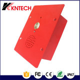 Intercom Phone Knzd-11 Rugged Waterproof Metal Telefone IP Mini Audio Intercom Door Phone